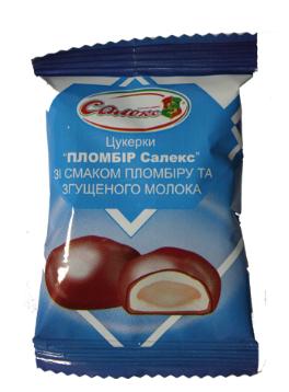 "Candy ""Saleks Plombīrs""  Image"