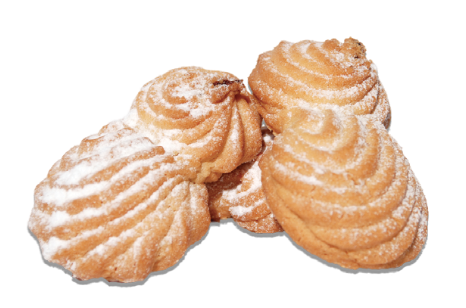 Cookies - Aprikoska - with apricot filling Image