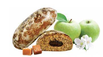 "Pryaniki ""Karameļu"" with apple filling Image"