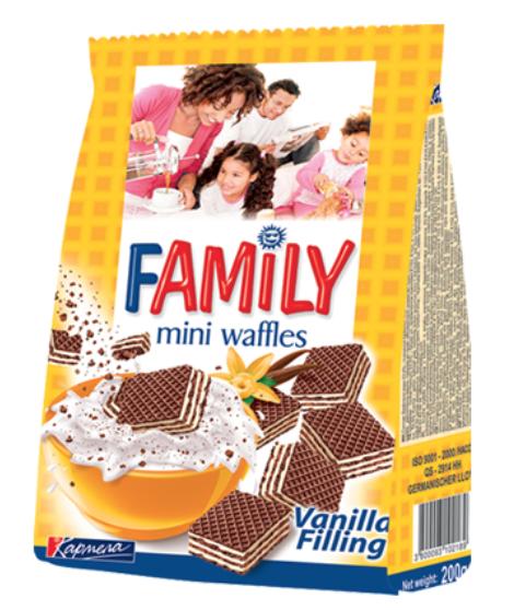 Waffles FAMILY vanilla 200gr  Image